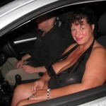 Posh wife loves to go dogging