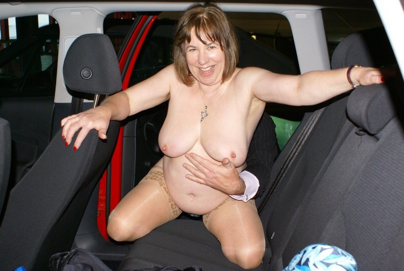 Dogging wife taking on plenty of cummers at rest areas 6